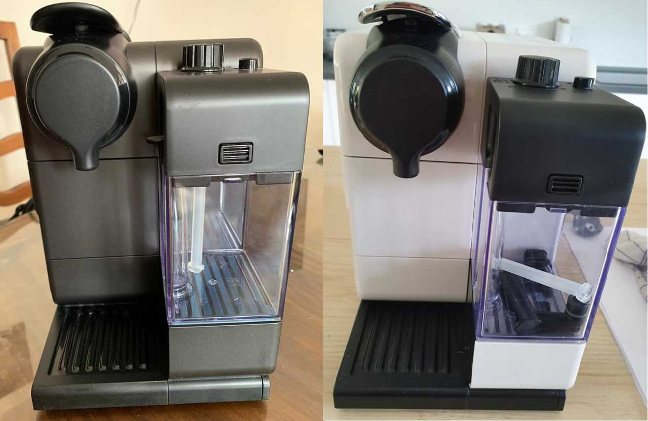 Nespresso Lattissima Touch F511 Vs F521