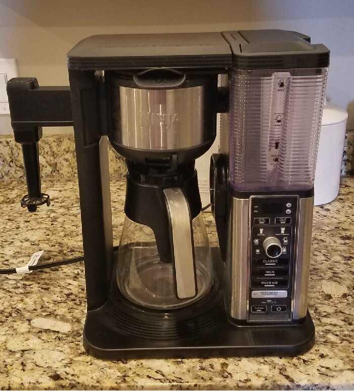 Ninja Coffee Bar CM401 Vs CF097
