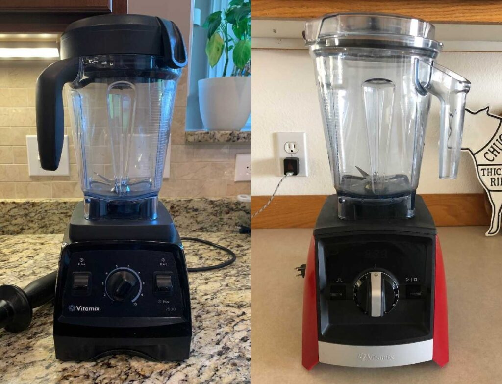 Vitamix 7500 Vs A2300