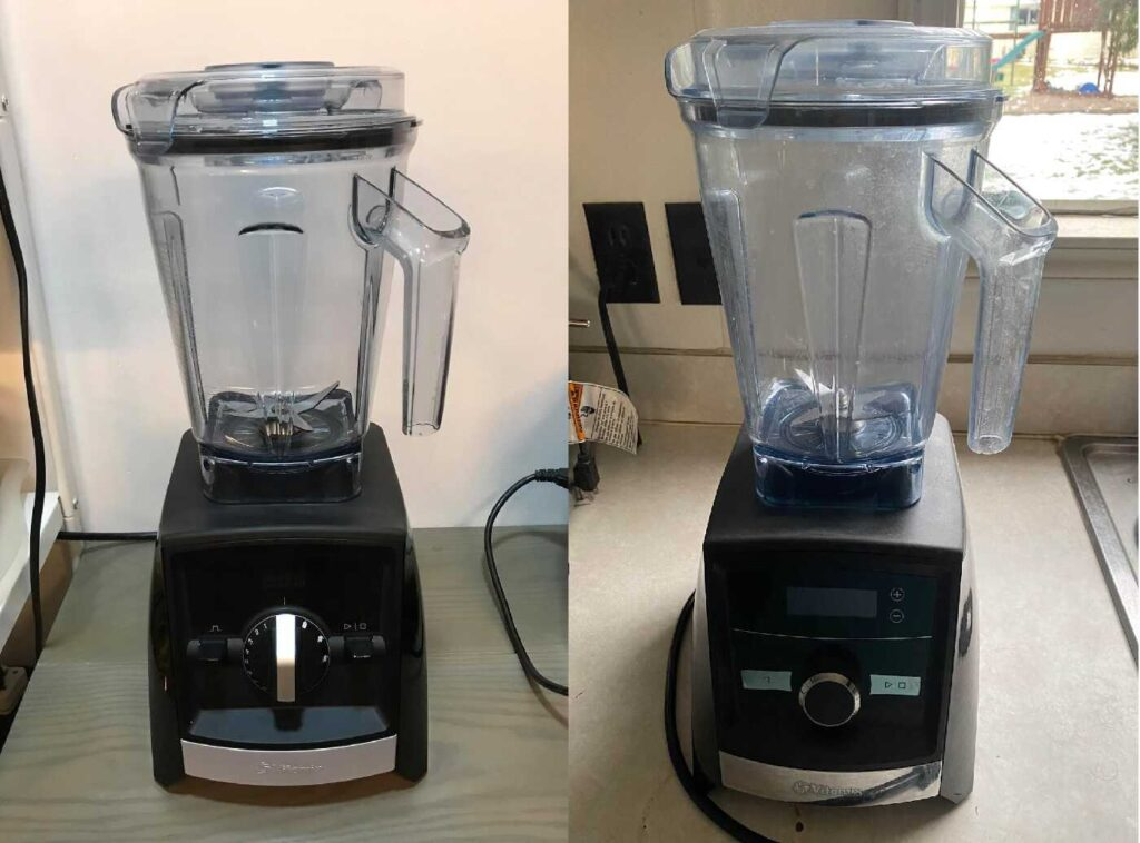 Vitamix A2500 Vs A3300
