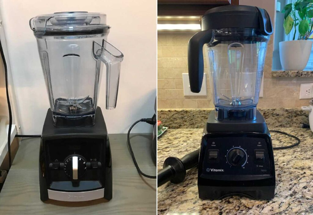 Vitamix A2500 vs 7500