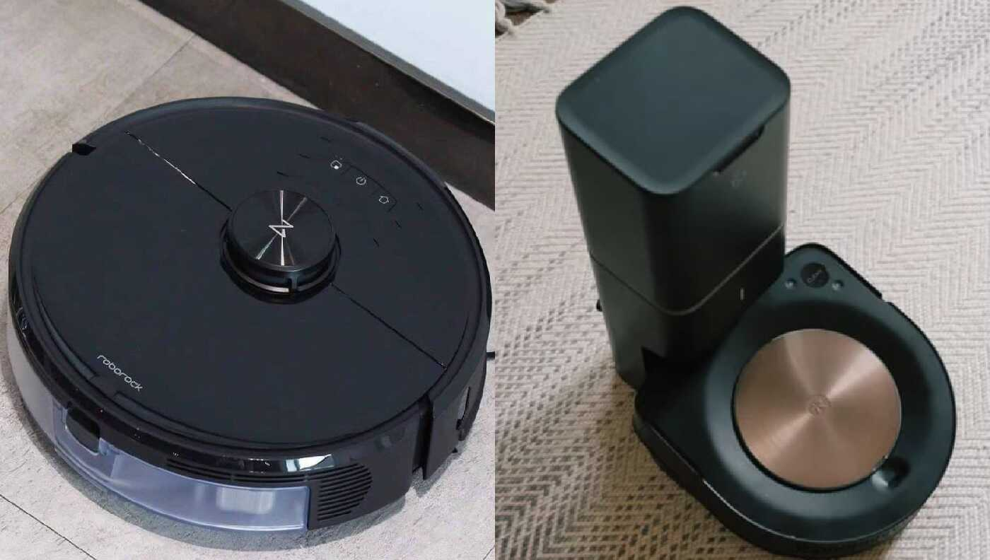 Roborock S6 MaxV vs Roomba S9