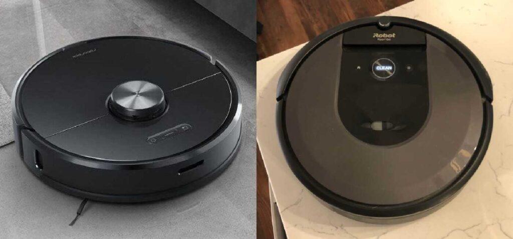 Roborock S6 vs Roomba i7