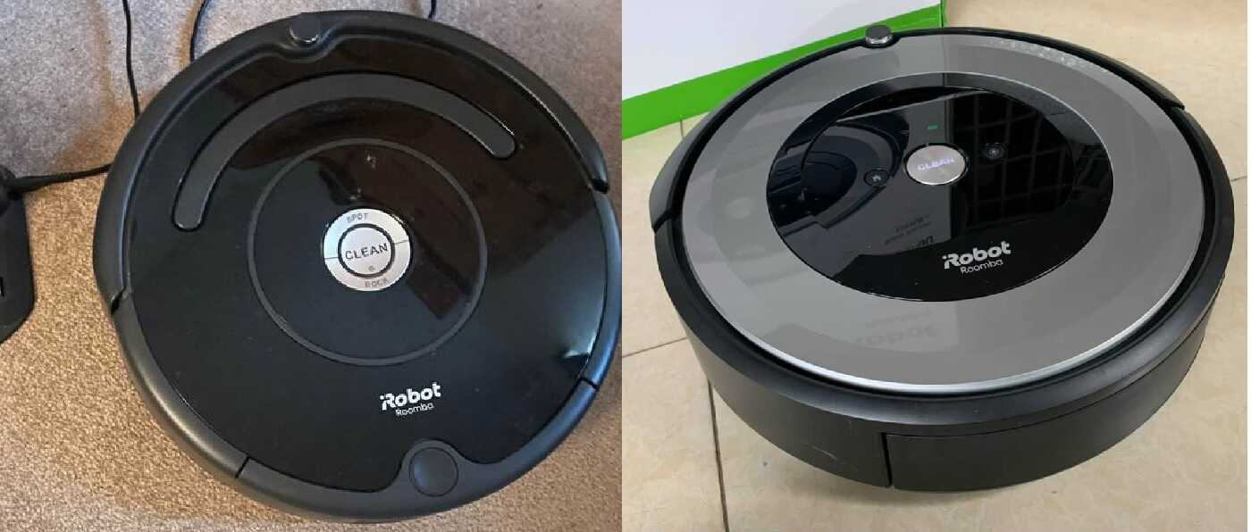 iRobot Roomba 675 Vs E5